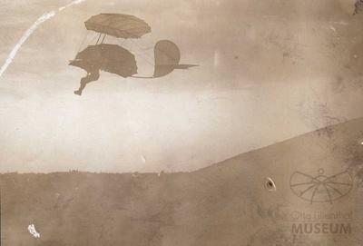 Fotografie: Flug Otto Lilienthals (F0847)