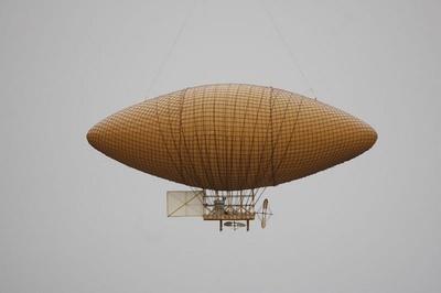 Modell Luftschiff Wölfert