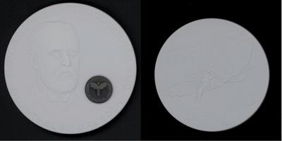 Medaille zur Europäischen Luftpostausstellung in Dresden