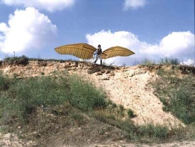 Rekonstruktion Gleitflugzeug Otto Lilienthals