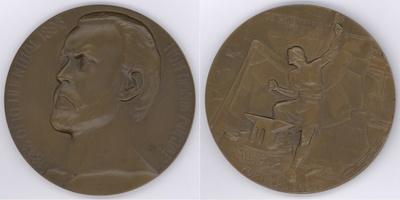 Bronzemedaille Ehrung Otto Lilienthals