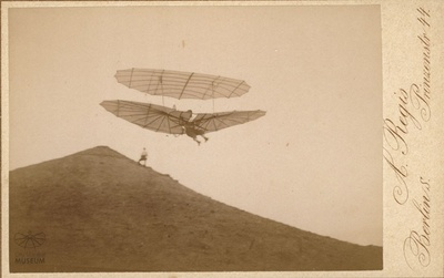 Fotografie: Flug Otto Lilienthals (F0029)