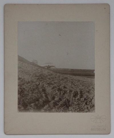 Fotografie: Flug Otto Lilienthals am Fliegeberg