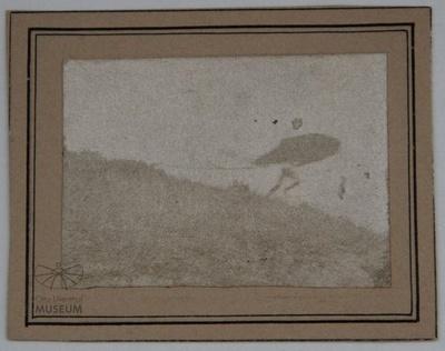 Fotografie Flugversuch Otto Lilienthals (f0020)