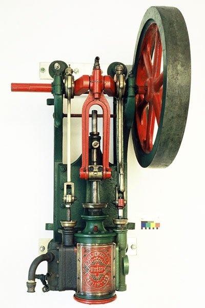 Dampfmaschine No. 137, Maschinenfabrik Otto Lilienthal