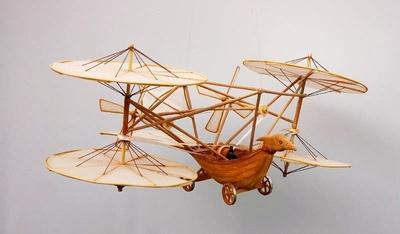 Der Flugwagen von Sir George Cayley (Modell)