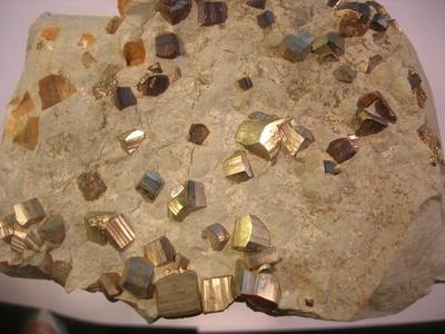 Pyrit aus dem Steinmergelkeuper