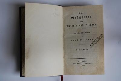 Die Geächteten oder Valerio und Isidora.