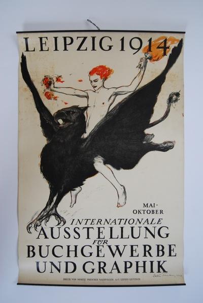 INTERNATIONALE AUSSTELLUNG FÜR BUCHGEWERBE UND GRAPHIK, LEIPZIG 1914