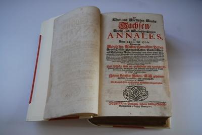 Johann Sebastian Müller, Annales des Chur- und Fuerstlichen Hauses Sachsen von Anno 1400 bis 1700