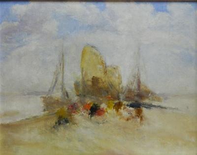 Segelboote auf der Nordsee