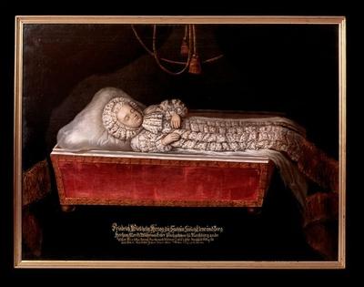 Totenbildnis des Prinzen Friedrich Wilhelm von Sachsen-Zeitz (1690-1690)