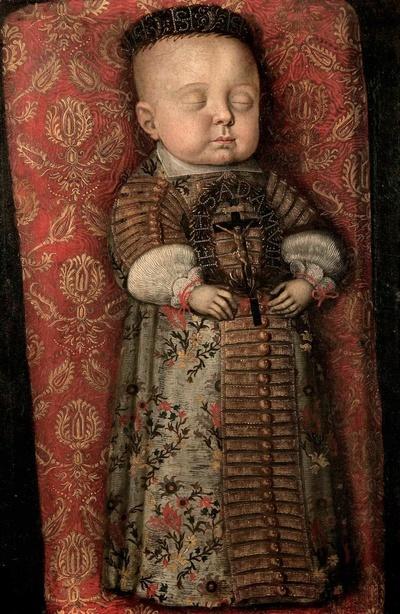 Totenbildnis des Prinzen Moritz von Sachsen-Zeitz (1652-1653)