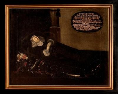 Totenbildnis des Herzogs Friedrich Wilhelms II. von Sachsen-Altenburg (1603-1669)