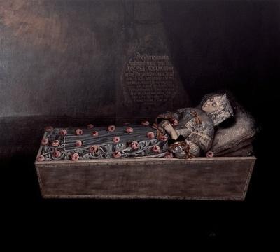 Totenbildnis der Herzogin Dorothea Maria von Sachsen-Zeitz (1641-1675)