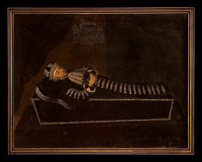 Totenbildnis des Herzogs Moritz von Sachsen-Zeitz (1619-1681)