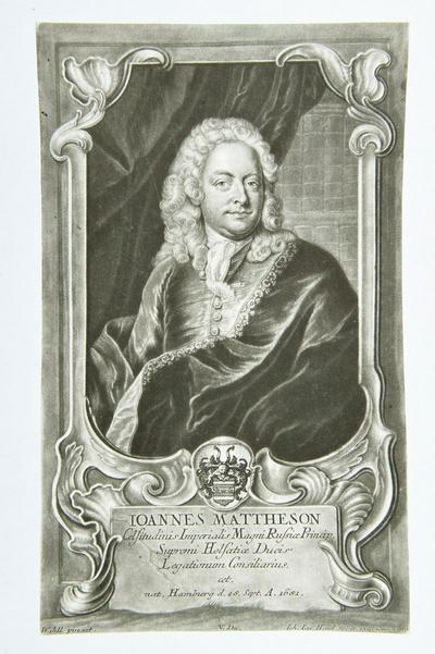 Porträt Johann Mattheson