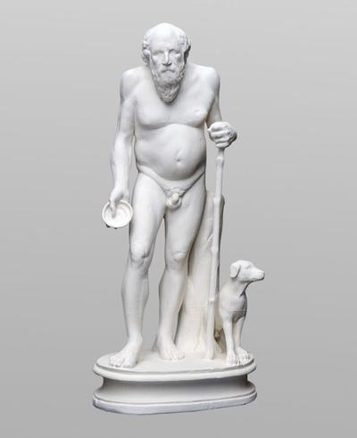 Statuette des Diogenes
