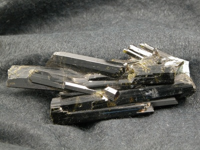 Epidot-Kristalle