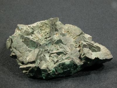 Malachit pseudomorph nach Azurit