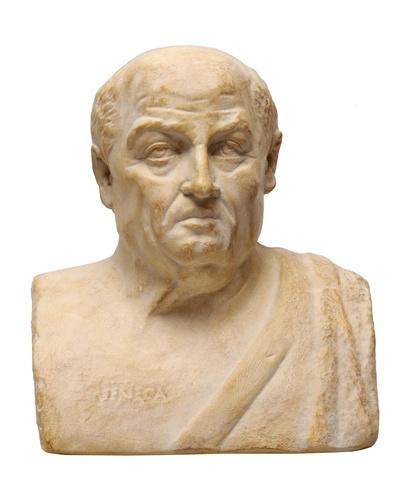 Porträt von Seneca dem Jüngeren