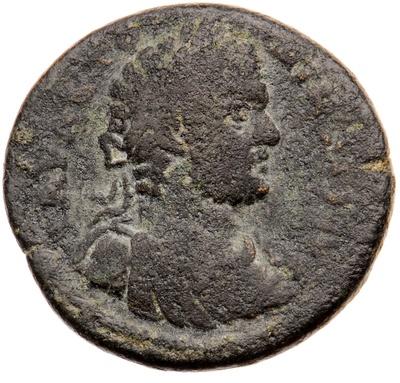 Büste des Kaisers Caracalla / Stadtgöttin (Tyche)