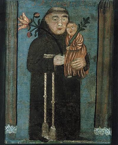 Šv. Antanas su Kūdikėliu Jėzumi