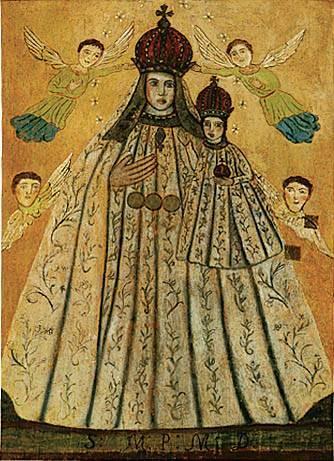 Švč. Mergelė Marija su Kūdikiu