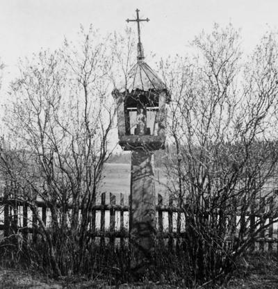 Žernių kaimo (Plungės r.) koplytstulpis