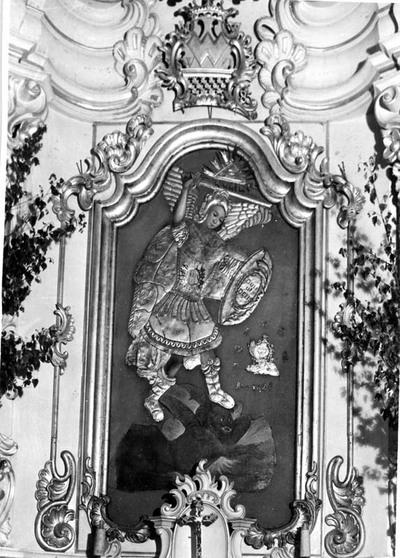 Žiemalės (Mažeikių r.) bažnyčios altorius