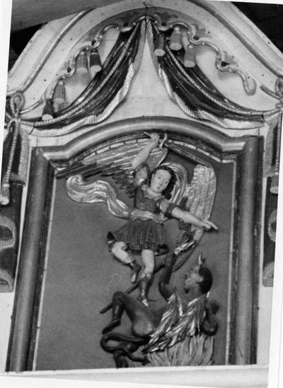 Žiemalės (Mažeikių r.) bažnyčios paveikslas