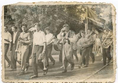 Žygaičių orkestras (Tauragės apskr.) apie 1965 metus