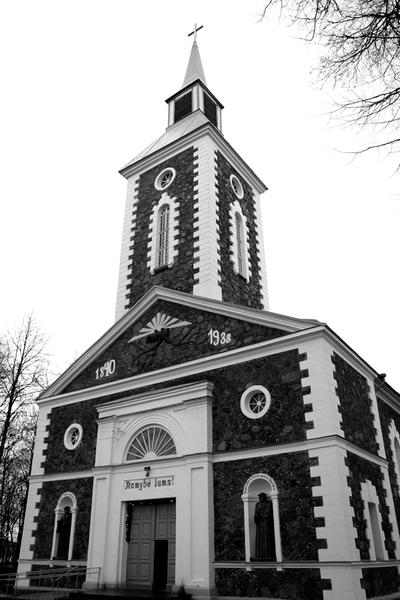 """Nuotrauka """"1938 m. rugsėjo 18 d. pašventinta Tauragės evangelikų bažnyčia"""""""