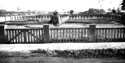 """Nuotrauka """"Tauragės vokiečių karių, žuvusių Antrojo pasaulinio karo metais, kapinės"""""""