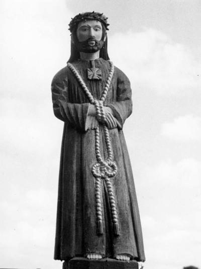 """Kinčiulių kaimo (Telšių rajonas) skulptūrėlė """"Jėzus Nazarietis"""""""