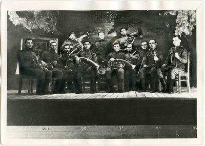 Kalinių dūdų orkestras (Komi autonominė respublika) 1951 m.