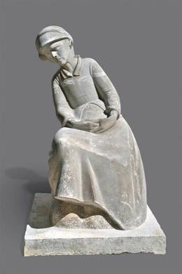 Μάνα καθιστή (Καρτερία)