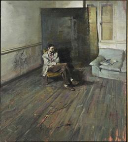 Άνδρας σε εσωτερικό [Προσωπογραφία Π.Κ.]