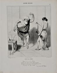 Ο Σωκράτης στo σπίτι της Ασπασίας