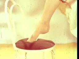 Black Lady nylonstrømper-reklame