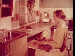 Moderne kjøkken kjøkkeninnredninger-reklame