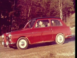 Austin A40 Futura personbil-reklame