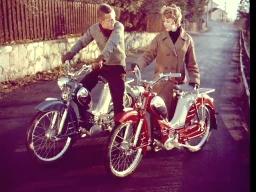 Tempolett moped-reklame