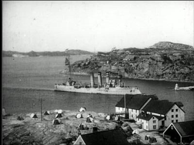 Keiserbesøk ca. 1913, samt opptak fra Kristiansundtraktene