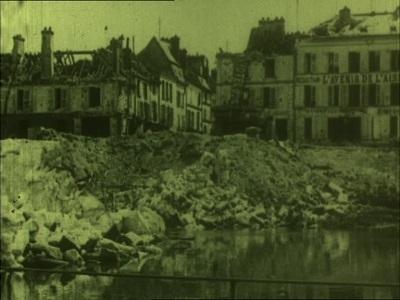 Verdenskrigen 1914-1918 : Chateau Thierry og Aisne-Marne ; St. Mihiel Drive