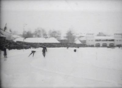 Skøyter, Frogner stadion, 1919?