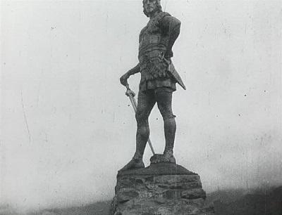 Avsløringen af Fritjofstatuen den 31 juli 1913