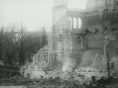 Bergen bybrann, 1916