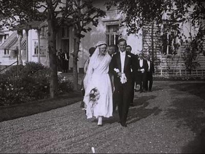 Ingeborg Kiær's og Oluf Høy's bryllup : Riverside, Fredrikstad 2den juni 1917
