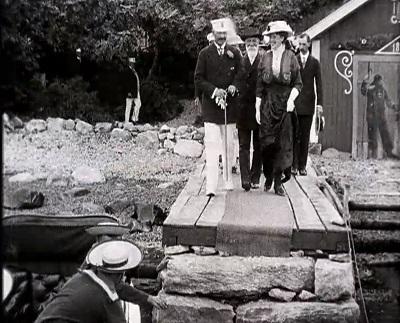 Keiser Wilhelm på Norgesbesøk